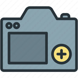 camera, devices, digital, photo, photograph icon