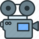 cinema, devices, film, movie icon