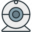 cam, camera, devices icon