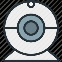 cam, camera, devices icon