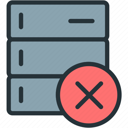 cancel, data, devices icon