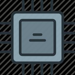 chip, cpu, devices, processor icon