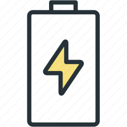 battery, charge, devices, level icon