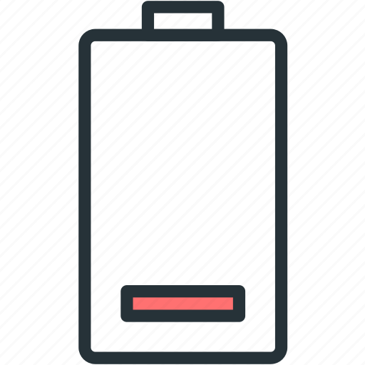 battery, devices, low, status icon
