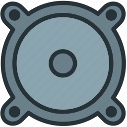 devices, music, speaker icon
