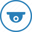 camera, roof, surveillance, video icon