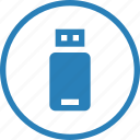 flash, usb icon