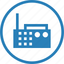 appliances, device, electronics, equipment, music, radio, sound icon