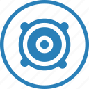 audio, device, electronics, music, sound, speaker icon