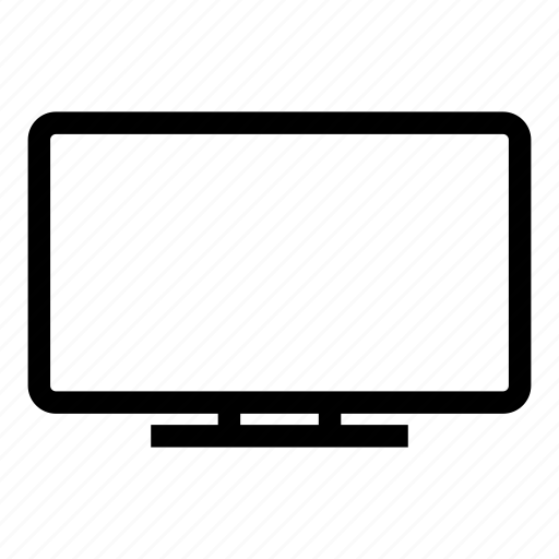 channel, image, media, output, screen, tv icon