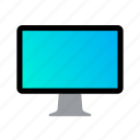 cinema, computer, display, monitor, screen icon