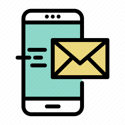 email, message, mobile, phone, send, smartphone icon