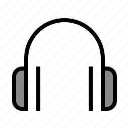 audio, devices, headphone, media, sound icon