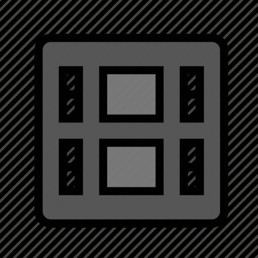 devices, film, media, movie, video icon