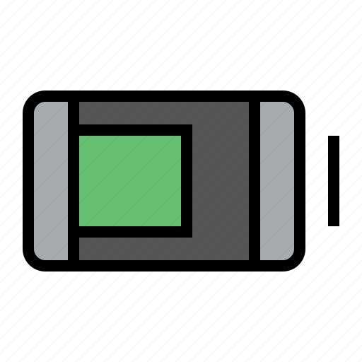 battery, charge, charging, devices, media icon
