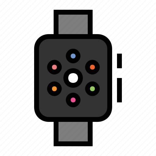 apple watch, devices, media, watch icon
