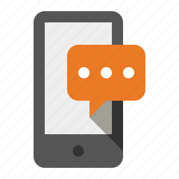 devices, media, smart phone, sms, text message icon