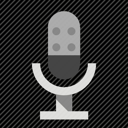 devices, media, microphone, speak icon