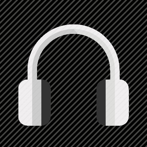 audio, devices, headphones, media, music icon