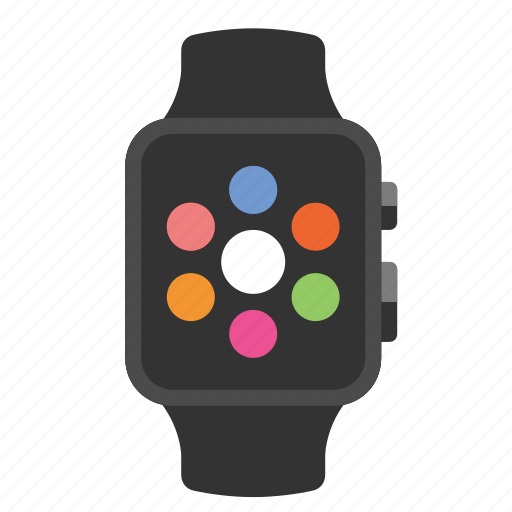 apple watch, devices, media icon