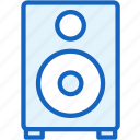 devices, music, sound, speaker icon