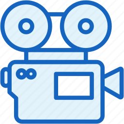 cinema, devices, film, movie icon
