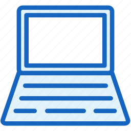 computer, devices, notebook, screen icon