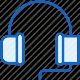 devices, headphones, music, sound icon