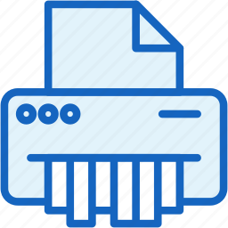 devices, get, office, rid, shredder icon