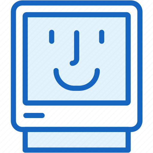 computer, devices, friendly, pc, smile icon