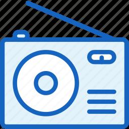 devices, radio, retro, sound icon