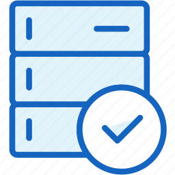 approve, data, devices icon