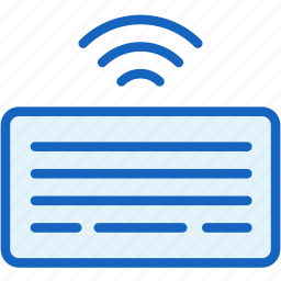 devices, keyboard, signal, wireless icon