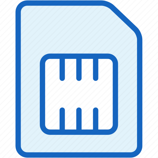 card, cellphone, devices, mobile, phone, sim icon
