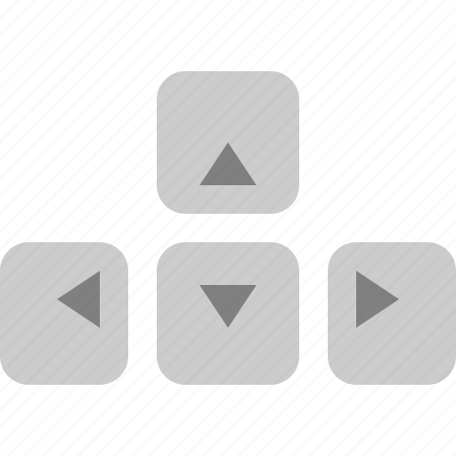 Arrow, down, keys, left, right, up icon - Download on Iconfinder