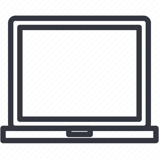 computer, devices, notebook, portable, screen icon