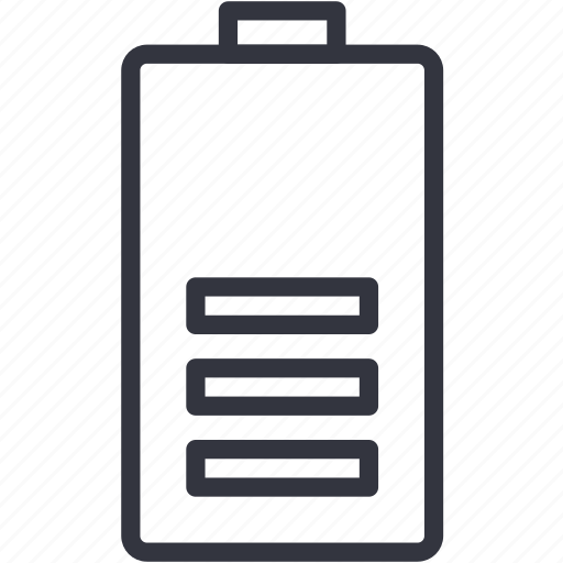 battery, charge, devices icon