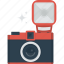 camera, device, flash, photo, photograph, photographer, taking photo icon
