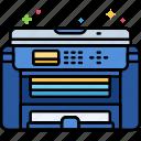 all, in, printer