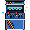 arcade, cabinet, device icon