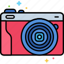 camera, device, photography icon