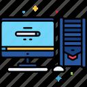 computer, desktop, device