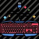 device, gaming, keyboard icon