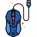 device, gaming, mouse icon