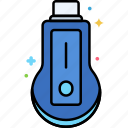 device, dongle, smart, tv icon