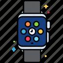 clock, device, smart, watch