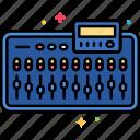 mixer, music, sound icon