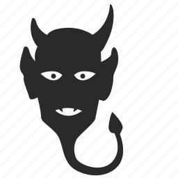 death, devil, face, head, hell icon