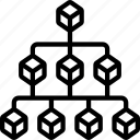 hierarchy, block, blocks, structure