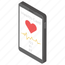 health card, mobile app, medical app, medical application, online check up icon